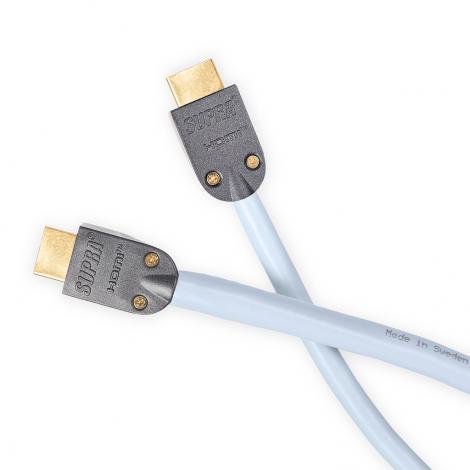 SUPRA HDMI-HDMI/H MET-S/B FRHF 1M